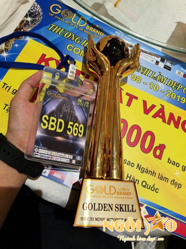 Master Vy Nguyễn & Kỹ thuật vàng phun xăm châu Á 2019 2