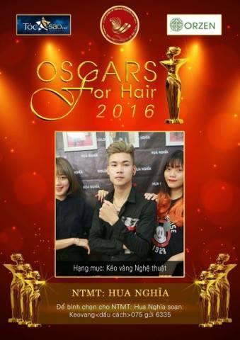 """NTM Hua Nghĩa mang bộ sưu tập """"Dòng thời gian"""" dự tranh Oscars ngành tóc 1"""