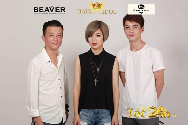 """NTM Thái Năng thẳng tiến vào chung kết Hair Idol 2016 cùng siêu phẩm """"Biển trong tim"""" 2"""